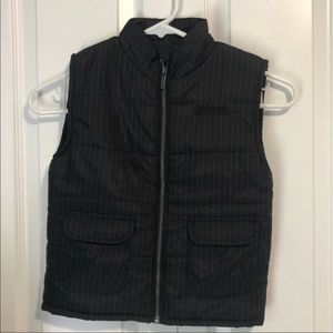 Kenneth Cole Reaction Pinstripe Puffy Vest Size 4T